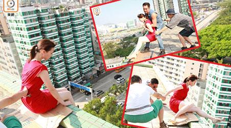 TVB tăng mức phí bảo hiểm để Chu Thần Lệ an tâm đóng cảnh trên cao