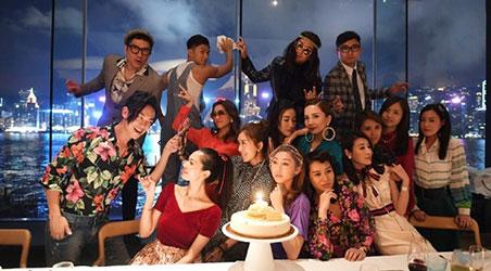 Hồ Định Hân mừng sinh nhật lần thứ 36 theo phong cách thập niên 60