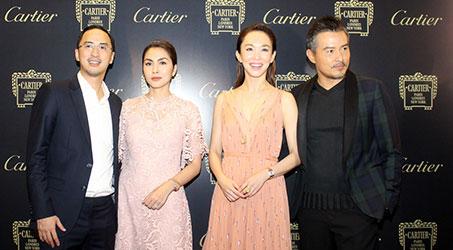 Lý Minh Thuận – Phạm Văn Phương rạng rỡ tham dự sự kiện khai trương Cartier tại TP.Hồ Chí Minh