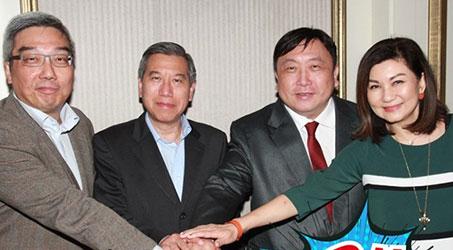 """TVB, Shaw, Tinh Vương Triều: """"Tam kiếm hợp bích"""""""