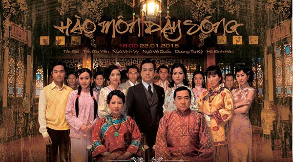Nội dung và hình ảnh trong phim Hào môn dậy sóng