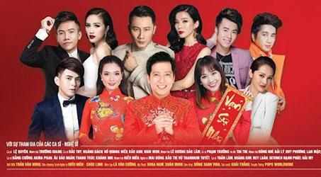 """Lệ Quyên, Trường Giang, Hari Won, Bảo Thy… dàn sao đình đám quy tụ trong Liveshow """"Xuân Thắm 2018"""" tại Nhà hát Hòa Bình"""