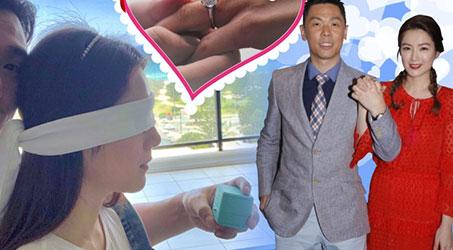 Cẩu Vân Tuệ nhận lời cầu hôn vào dịp lễ tình nhân