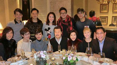 [Hình ảnh] Nghệ sĩ Hong Kong họp mặt cuối năm