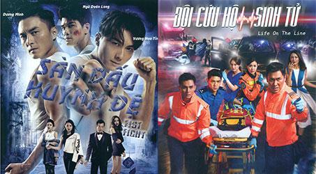 Poster những bộ phim TVB 2018 phiên bản Việt