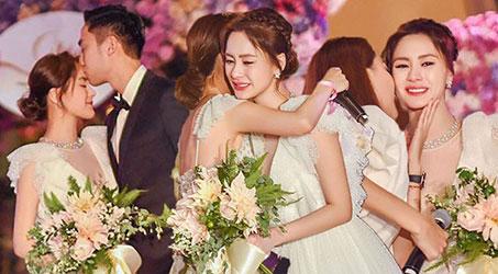 Toàn cảnh lễ cưới lãng mạn của Chung Hân Đồng ở Mỹ