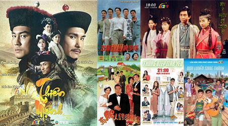 Những bộ phim TVB dự kiến phát sóng trên SCTV9 trong tháng 6/2018