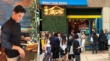 Huỳnh Trường Hưng mở quán bán món Việt tại Hong Kong