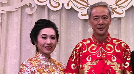 Diễn viên TVB Trần Vinh Tuấn kết hôn cùng Ngô Hương Luân