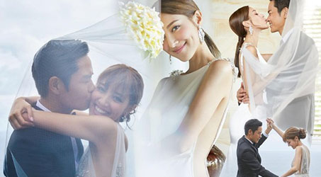 Bộ ảnh cưới của Trịnh Gia Dĩnh và Trần Khải Lâm