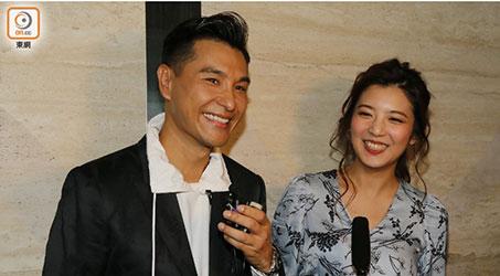 Trần Triển Bằng và Đơn Văn Nhu lần đầu xuất hiện sau khi thông báo kết hôn