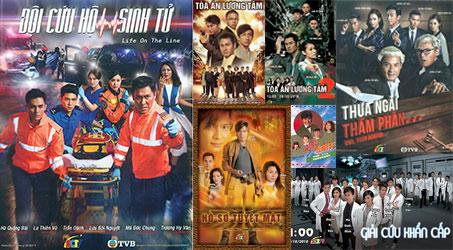 Những bộ phim TVB dự kiến phát sóng trên SCTV9 trong tháng 10/2018