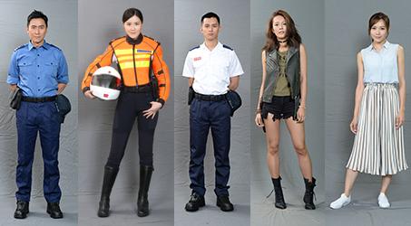 Tạo hình các nhân vật của các diễn viên trong phim Đội cứu hộ sinh tử