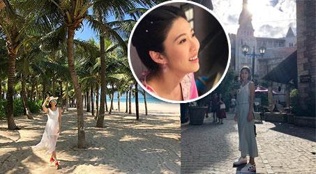 [Hình ảnh] Diễn viên của Thâm cung kế, Quan Uyển San tại Việt Nam