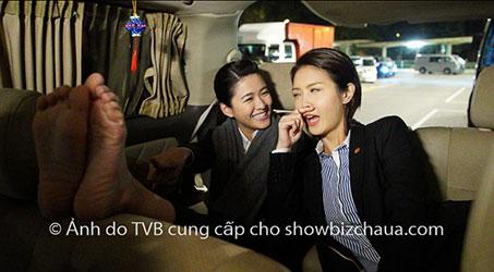 [Hình ảnh] Hậu trường vui nhộn của các diễn viên phim Sàn đấu huynh đệ