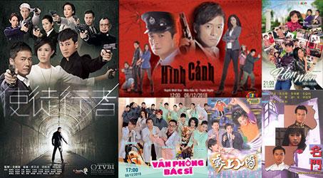 Những bộ phim TVB dự kiến phát sóng trên SCTV9 trong tháng 12/2018