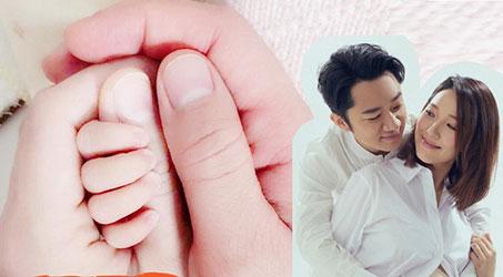 Vợ chồng Lý Á Nam – Vương Tổ Lam đón con gái đầu lòng