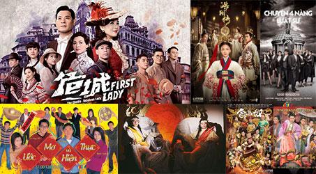 Những bộ phim TVB dự kiến phát sóng trên SCTV9 trong tháng 2/2019