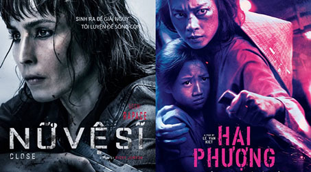 """""""Cô gái có hình xăm rồng"""" Noomi Rapace đối đầu Hai Phượng trong lần tái ngộ khán giả Việt trong bộ phim """"Nữ vệ sĩ"""""""