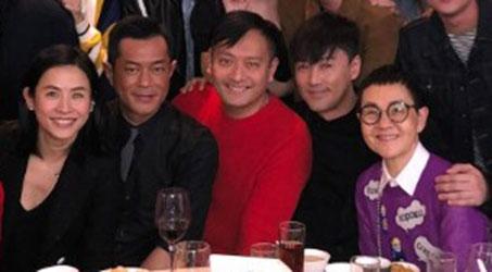 """""""Bộ ba"""" – Cổ Thiên Lạc, Lâm Phong và Tuyên Huyên hội ngộ sau 18 năm"""