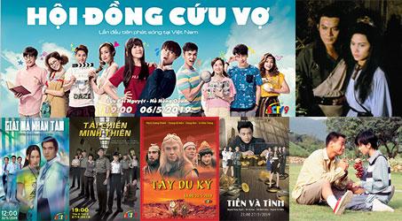Những bộ phim TVB dự kiến phát sóng trên SCTV9 trong tháng 5/2019