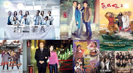 Những bộ phim TVB dự kiến phát sóng trên SCTV9 trong tháng 6/2019