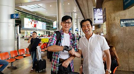 Nghệ sĩ Hong Kong Cố Quán Trung đã có mặt tại Việt Nam