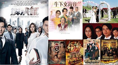 Những bộ phim TVB dự kiến phát sóng trên SCTV9 trong tháng 10/2019