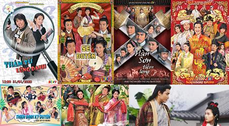 Những bộ phim TVB dự kiến phát sóng trên SCTV9 trong tháng 1/2020